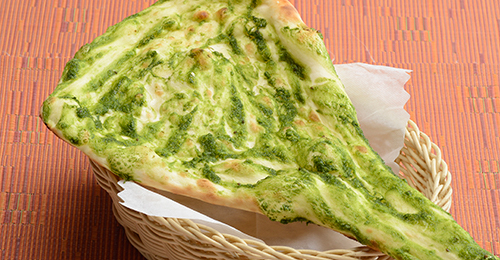 グリーンココナッツナン